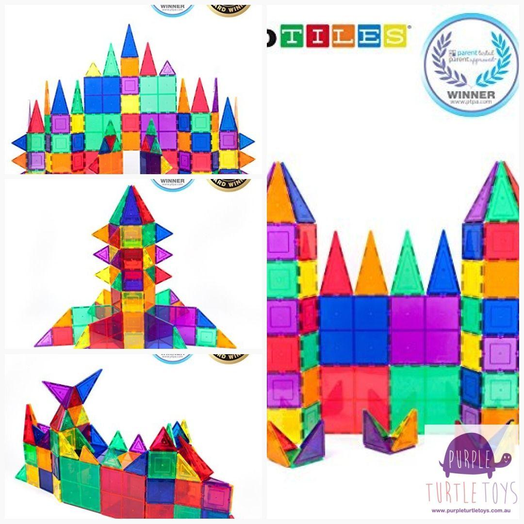 Picassotiles 100 Piece Set 100pcs Magnet Building Tiles Clear Magnetic 3d Building Blocks Onlineshopping Lb L Science For Kids Building Blocks Science Toys