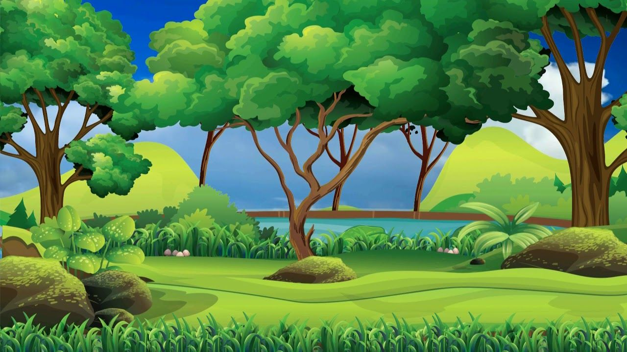 Beautiful 3d Animation With Nature Landscape Scenery 3d Background Vide Tree Illustration Digital Illustration Book Cover Illustration