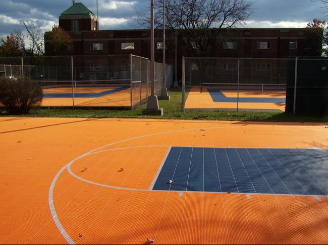 Defender 25x25 Basketball Court Basketball Court Court Basketball