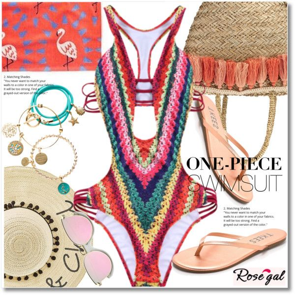 How To Wear High Cut Printed One-Piese swimwear Outfit Idea 2017 - Fashion Trends Ready To Wear For Plus Size, Curvy Women Over 20, 30, 40, 50