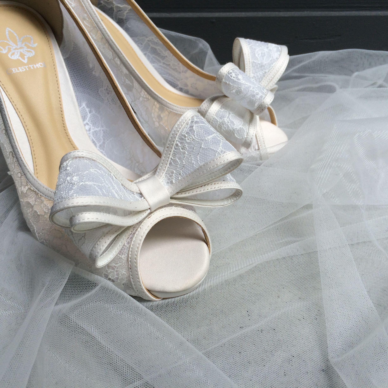 Celest Thoi bespoke wedding shoes with