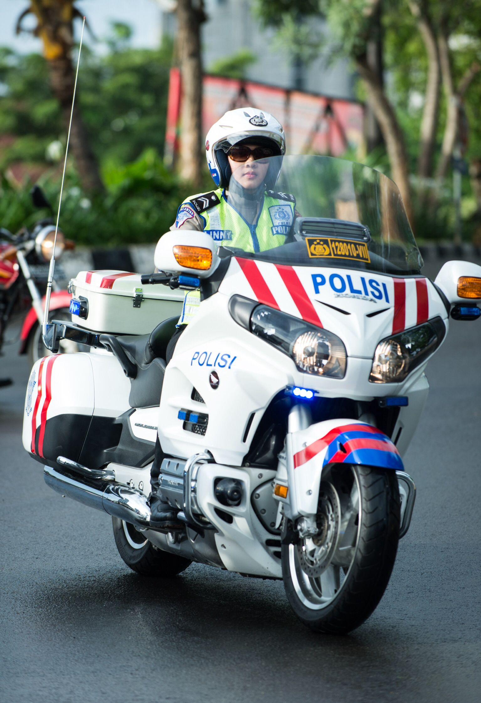 Polisi Wanita Mobil Polisi Polisi Militer