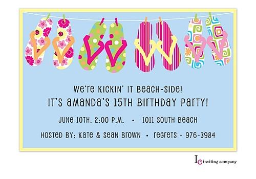 Flips line invitation flipping summer parties and invitation design flips line invitation stopboris Gallery