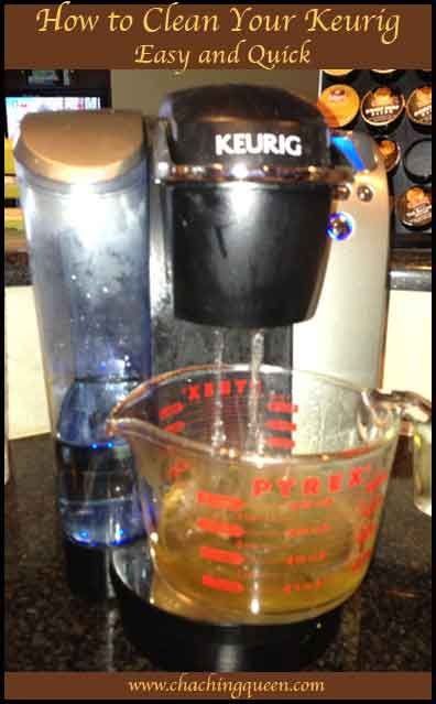 How To Clean Your Keurig Easy And Quick Keurig And Cleaning