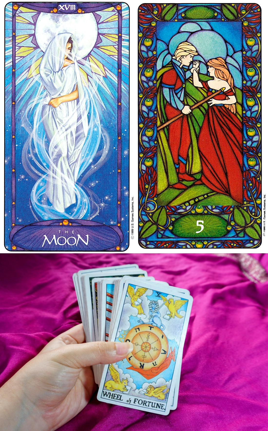 Latin Tarot Card Reading Divination
