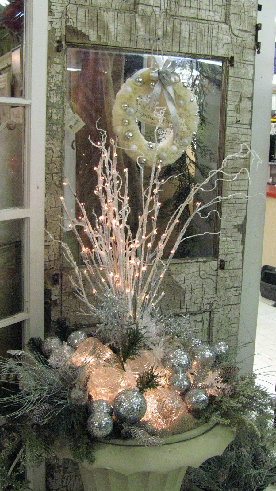 Outdoor garage decorations  Put on both sides of garage  Christmas  Pinterest  Christmas