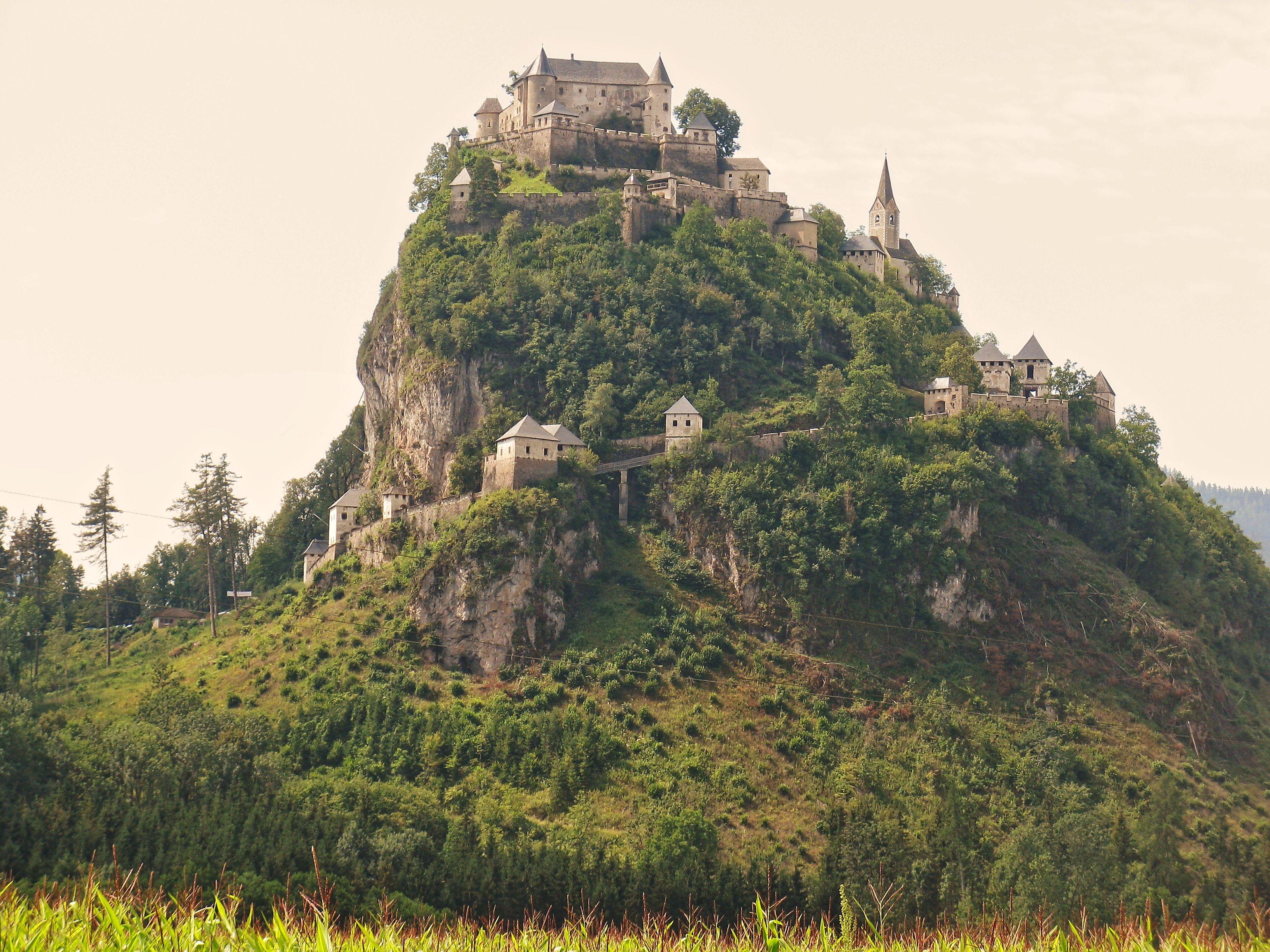 Hochosterwitz Castle Burg Haus