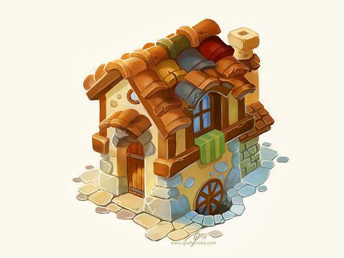 House by GuzBoroda Game Icon  Object Pinterest Shadowrun