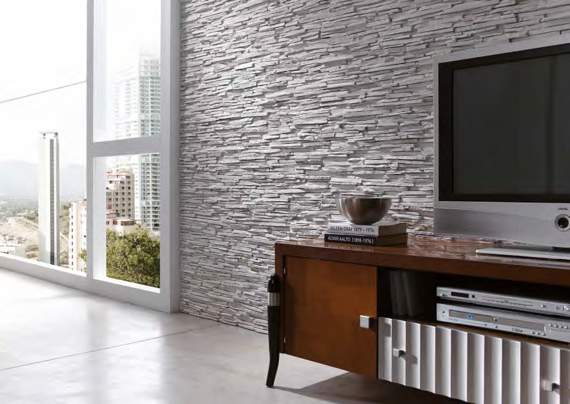 Pizarra Alpes Wall Panel - Feature Panels - Stone Wall ...