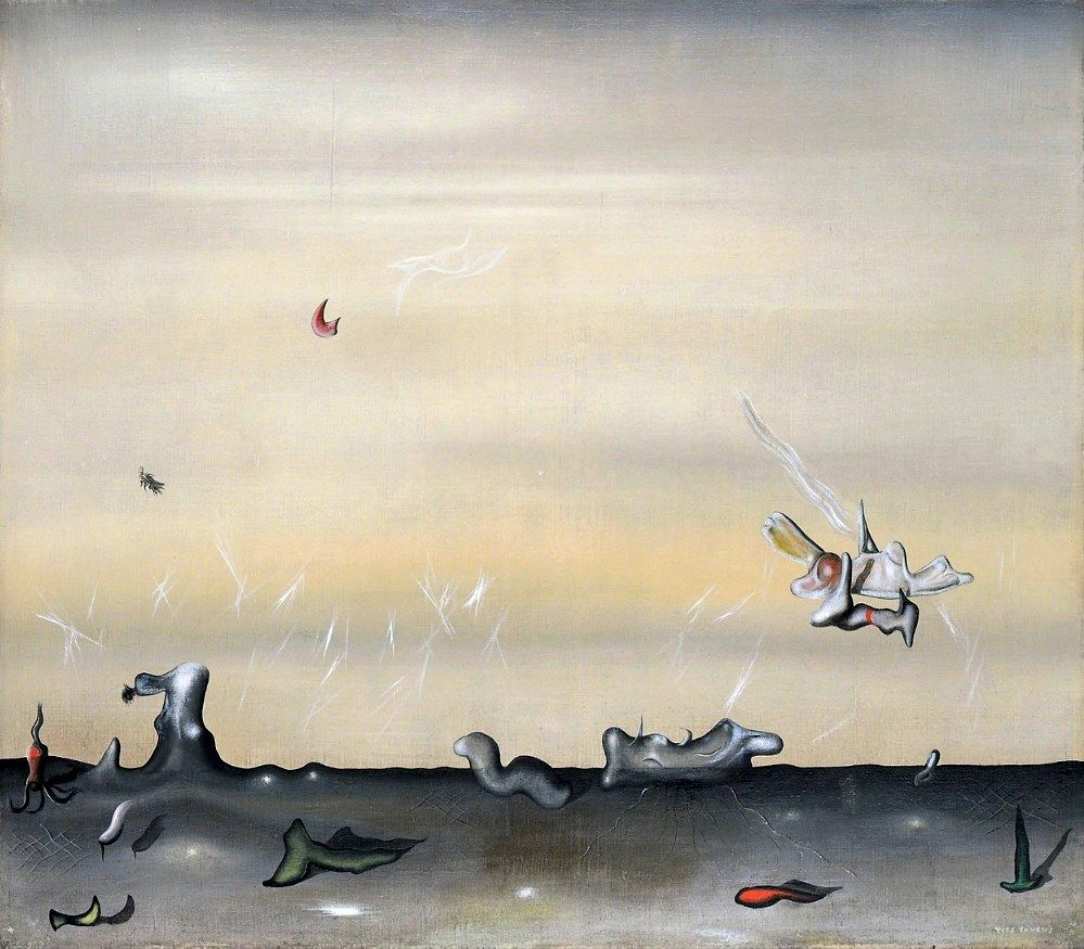 Yves Tanguy 1952 Perspectives Surréalisme, Art