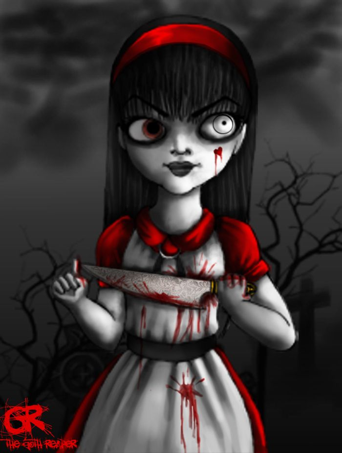 Alice living dead doll by grimtalesreaper.