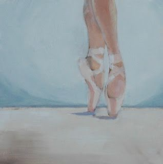 Artists Of Texas Contemporary Paintings and Art: ON POINTE by Linda Popple