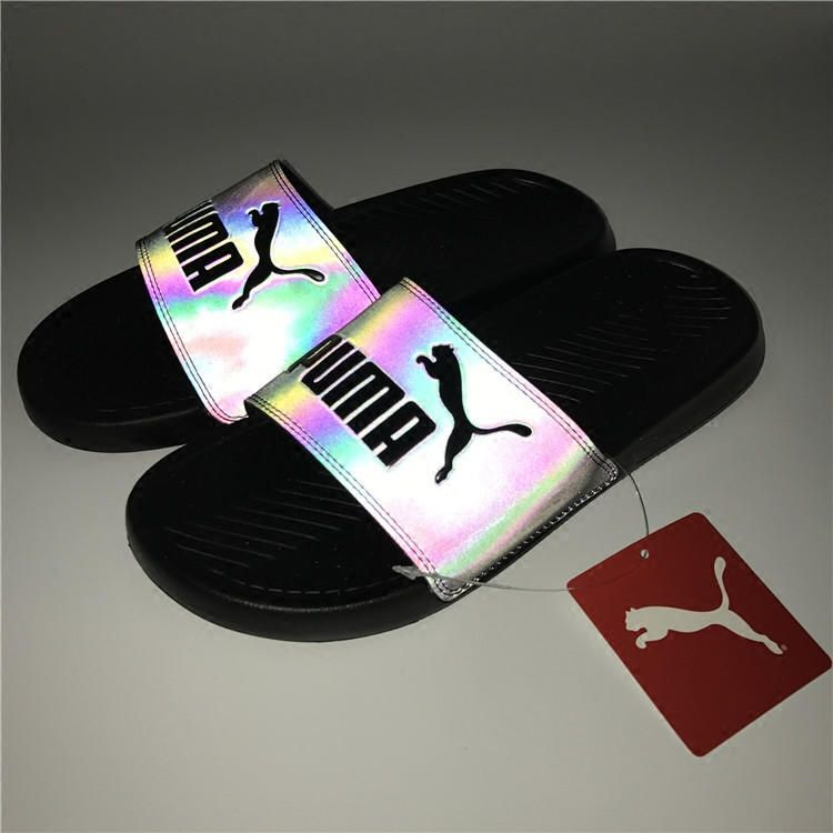 PUMA Fashion Chameleon Reflective Sandal Slipper Shoes from ...