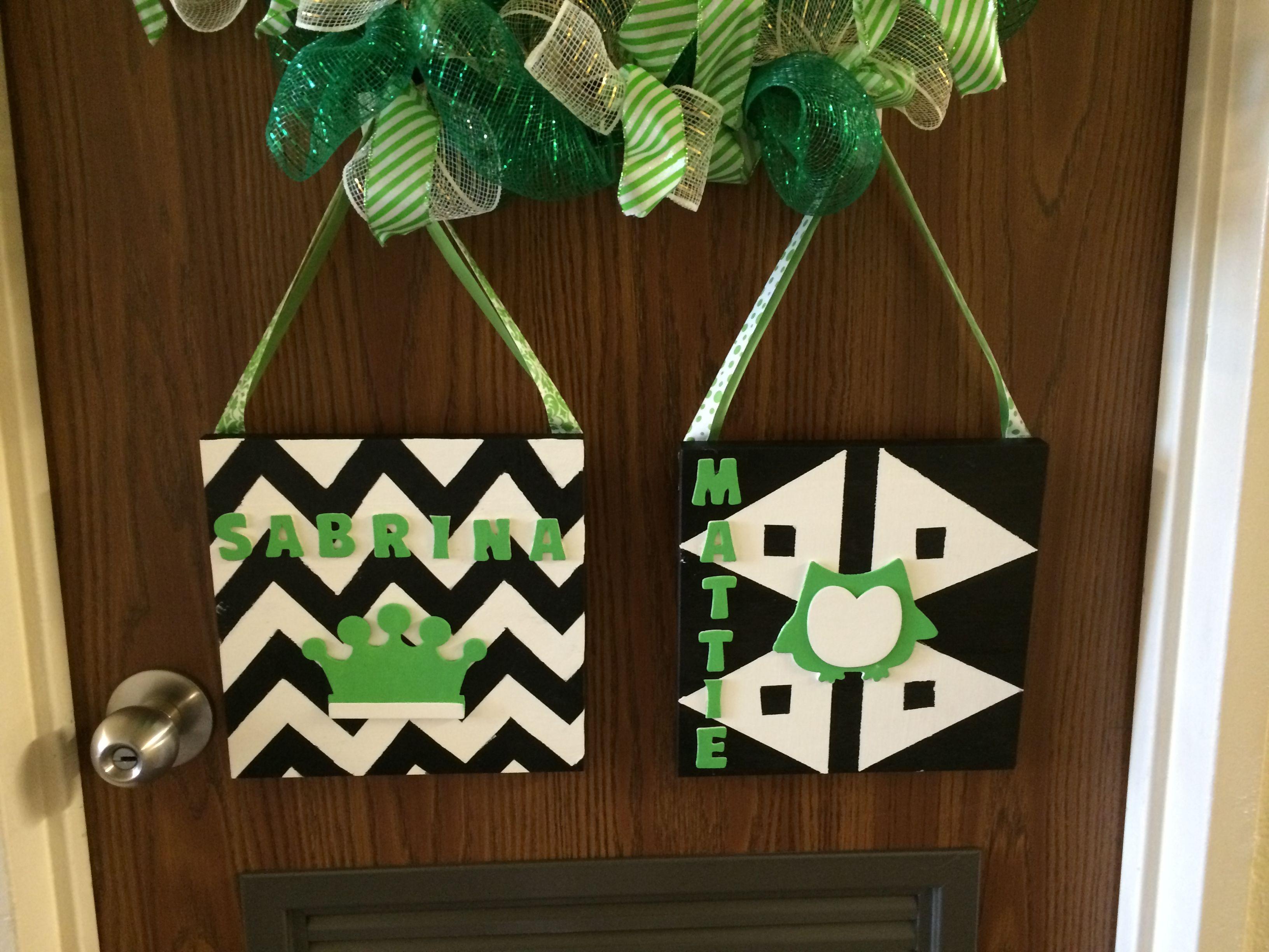 Christmas dorm door decorations - Dorm Door Decorations University Of North Texas Go Mean Green