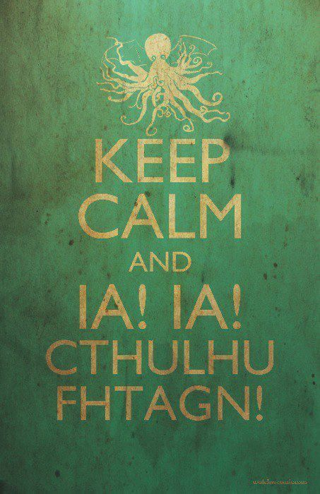 Cthulhu - Keep calm
