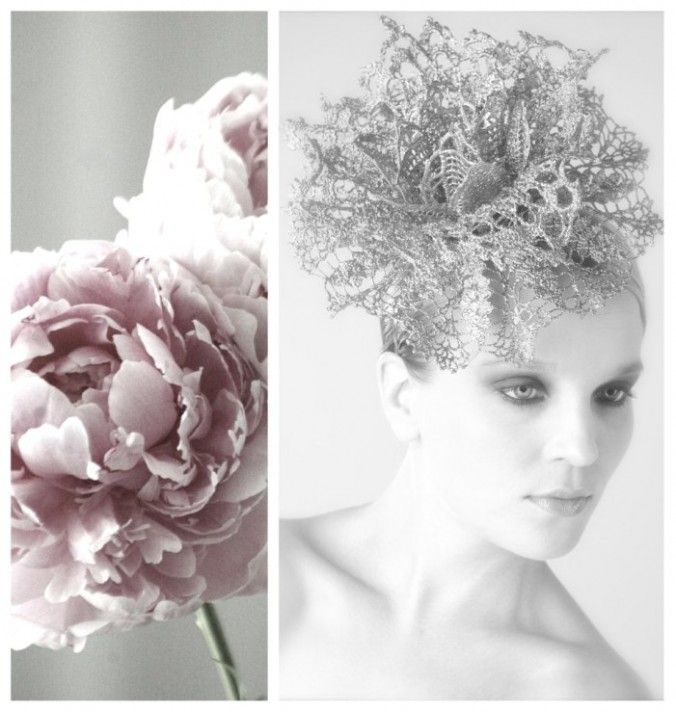 30 Creative And Unique Wedding Hairstyle Ideas: Unique Bridal Hair Accessories & Mini Crowns By Parant