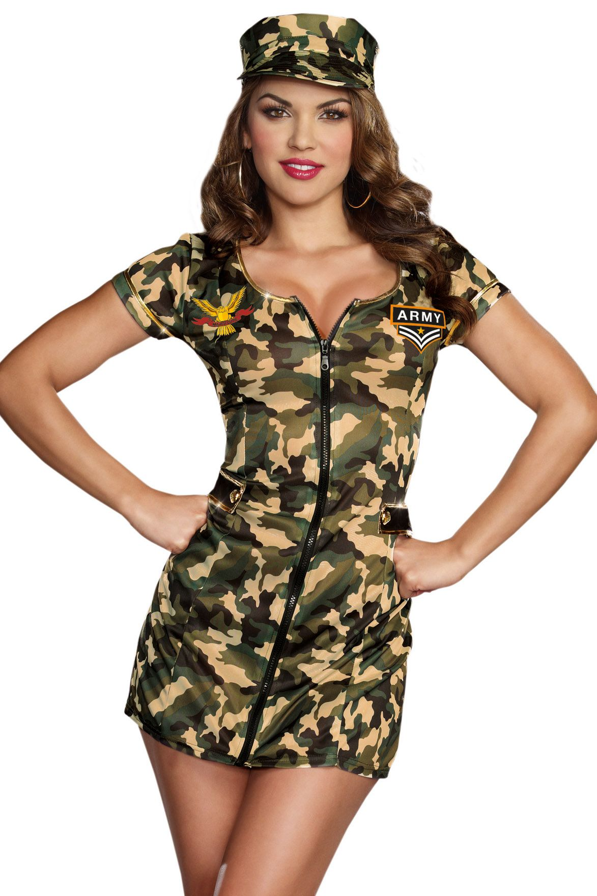 Shop for military costumes like this Army Doll Costume at Lingerie ...