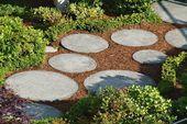 Photo of 19 DIY Garden Path Ideas With Tutorials | Balcony Garden Web- …