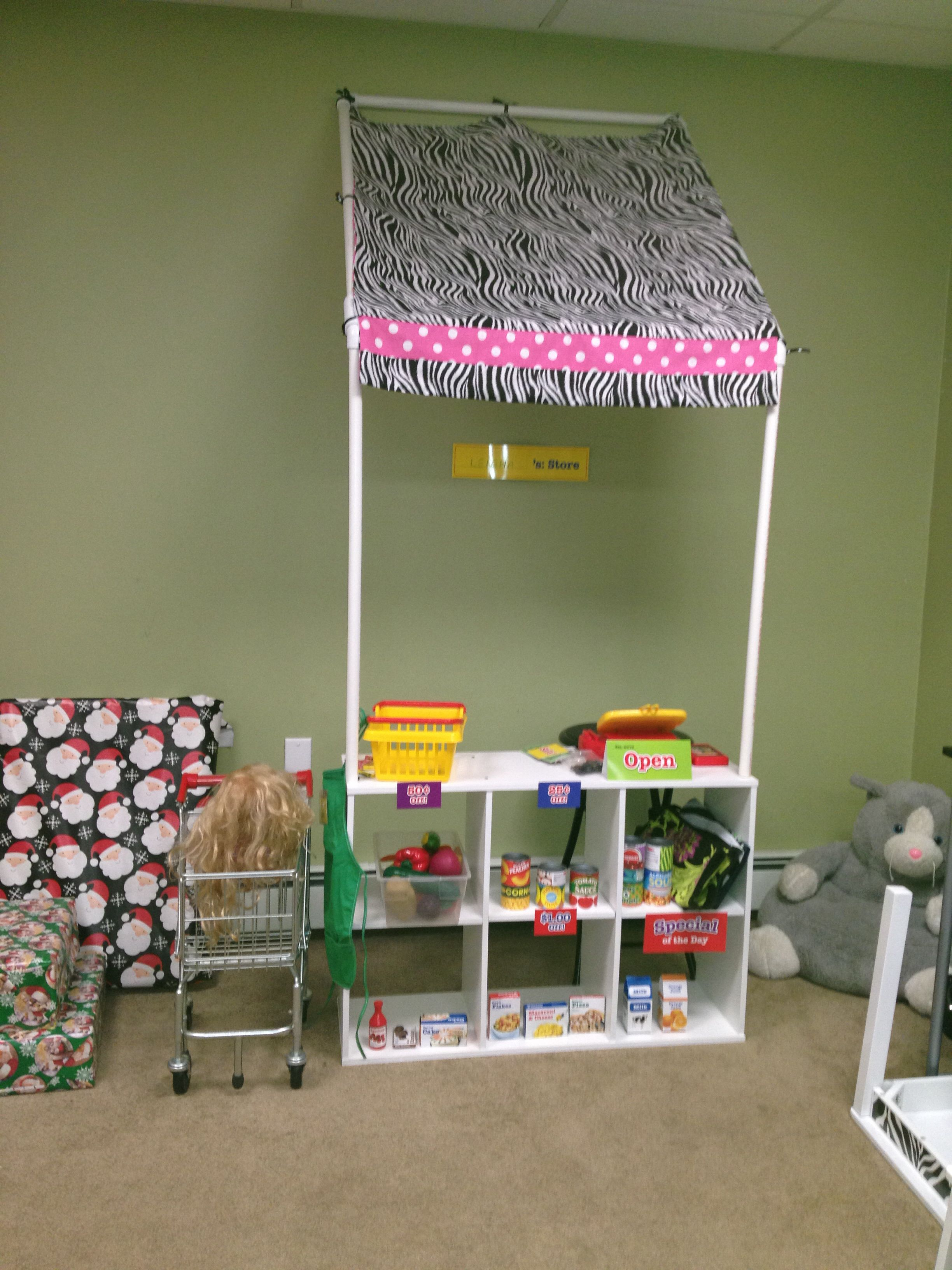 Grocery Store I Made For Leigha Pvc Piping From Home
