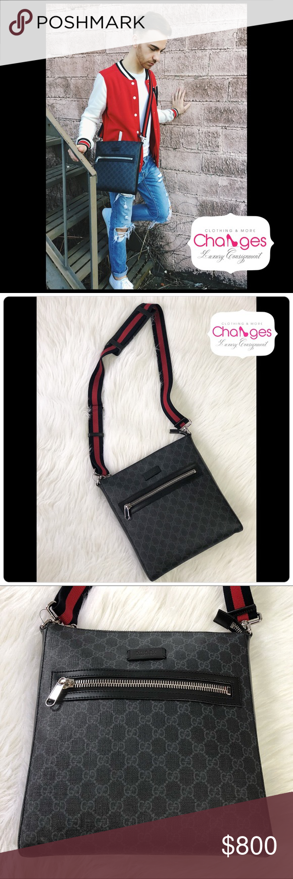 5b2f77aed1b27f GUCCI GG Supreme Messenger for Men or Women Amazing & Guaranteed  authentic GUCCI messenger bag