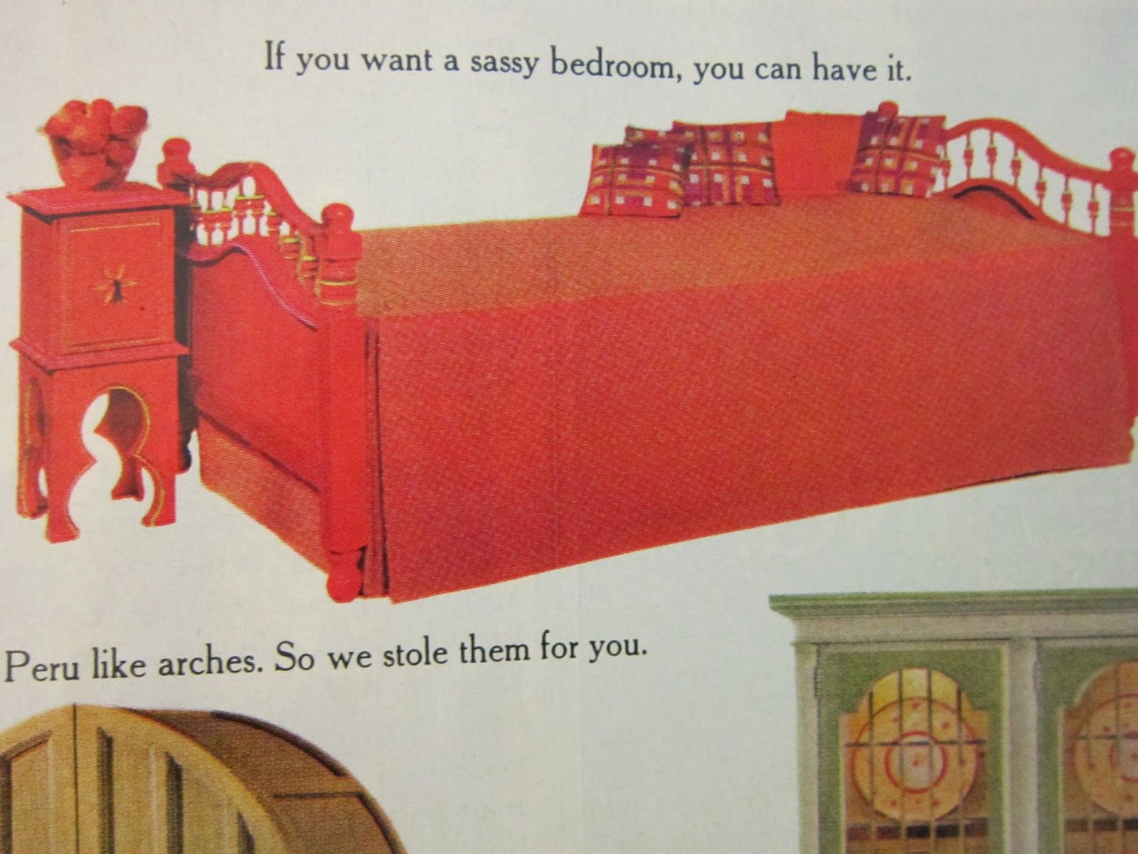 Ole by Stanley Furniture - 1969 vintage / retro kids bedroom set ...