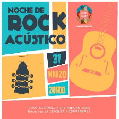 NOCHE DE ROCK ACUSTICO