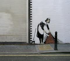 Bansky Stencil Graffiti Graffiti Artwork Stencil Street Art