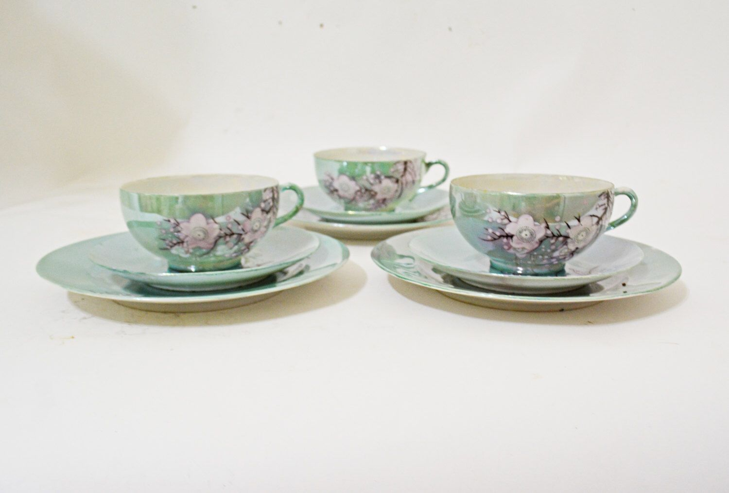 Asian cups and saucers