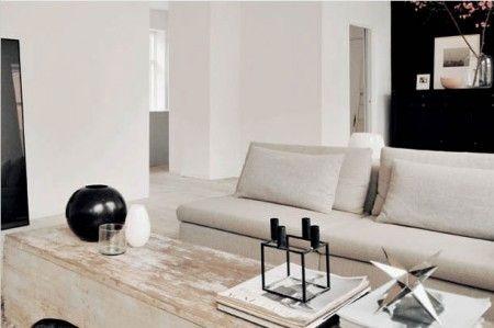 """Estilo loft minimalista neoyorquino"" or New York Style Minimalist Loft...in Denmark"