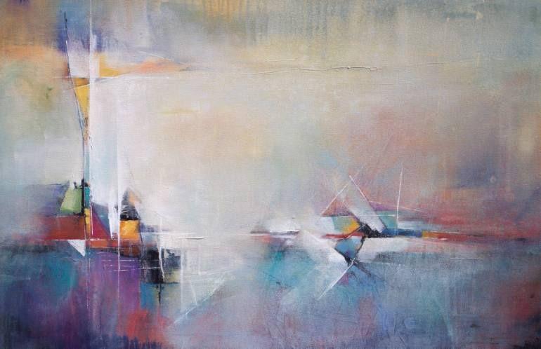 """Saatchi Art Artist Karen Hale; Painting, """"Join The Party"""" #art"""