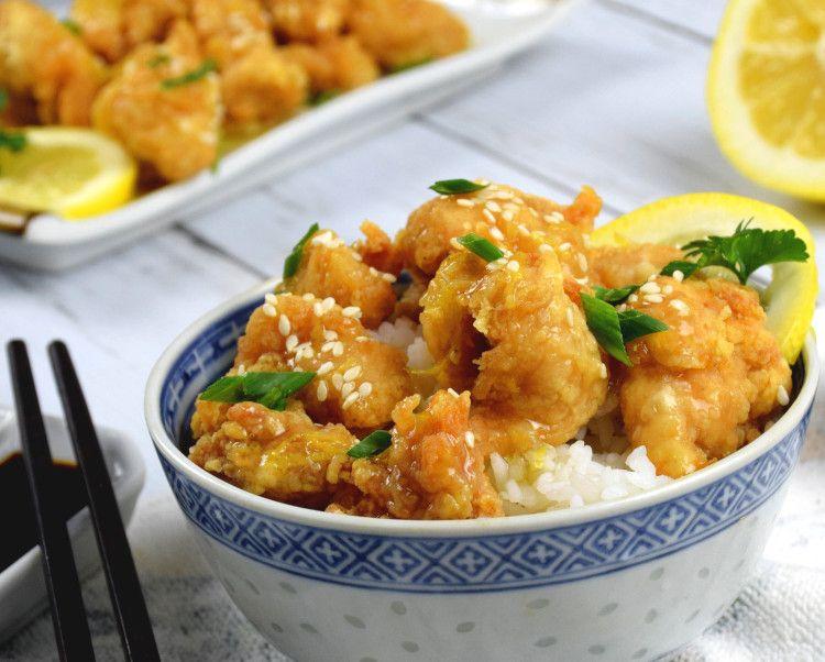 Lemon chicken - How to make Chinese lemon chicken in 3 simple steps |  Recipe | Chinese lemon chicken, Recipes, Lemon chicken