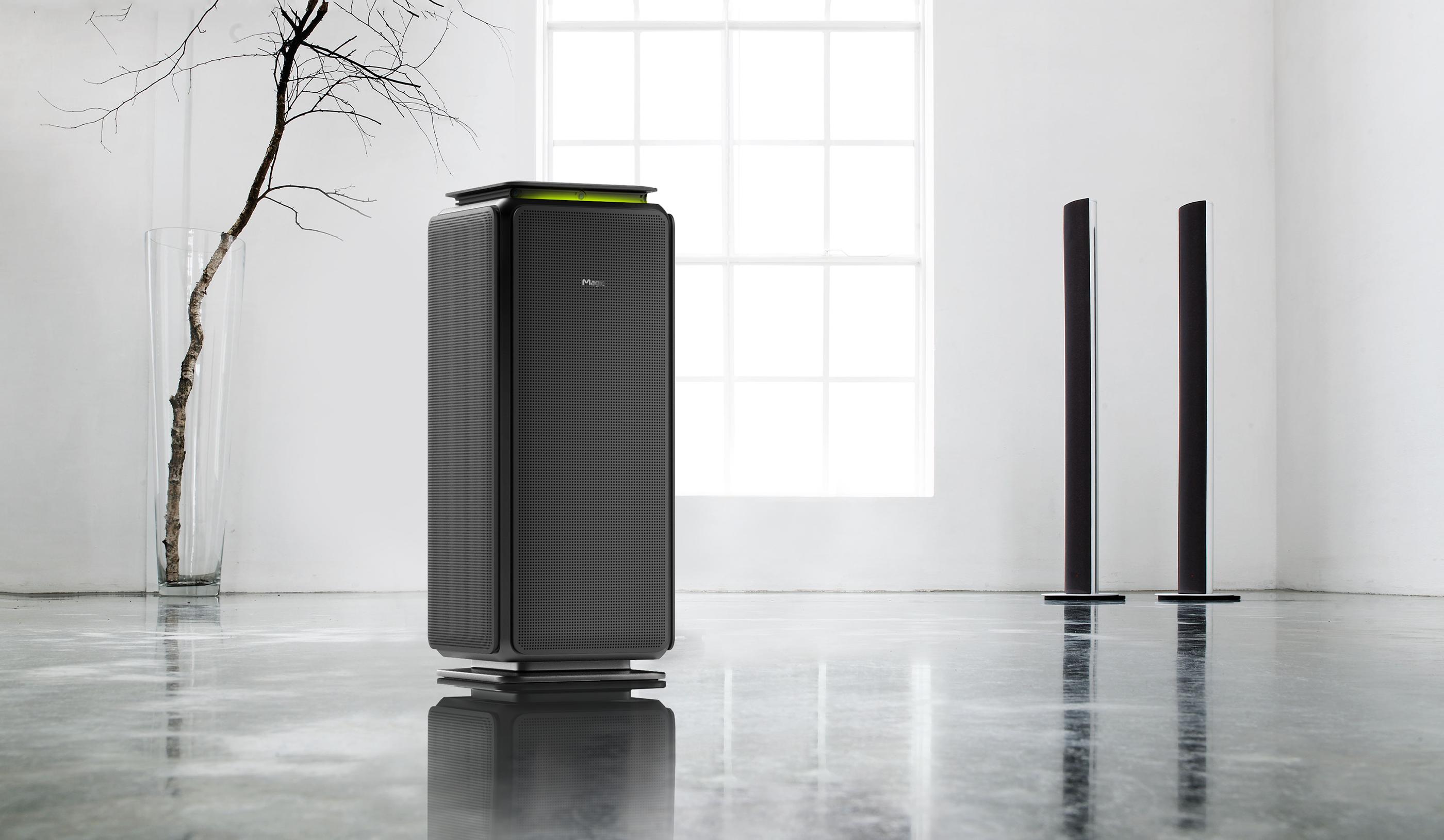 SK magic air purifier on Behance 제품 디자인, 세면대, 화장대