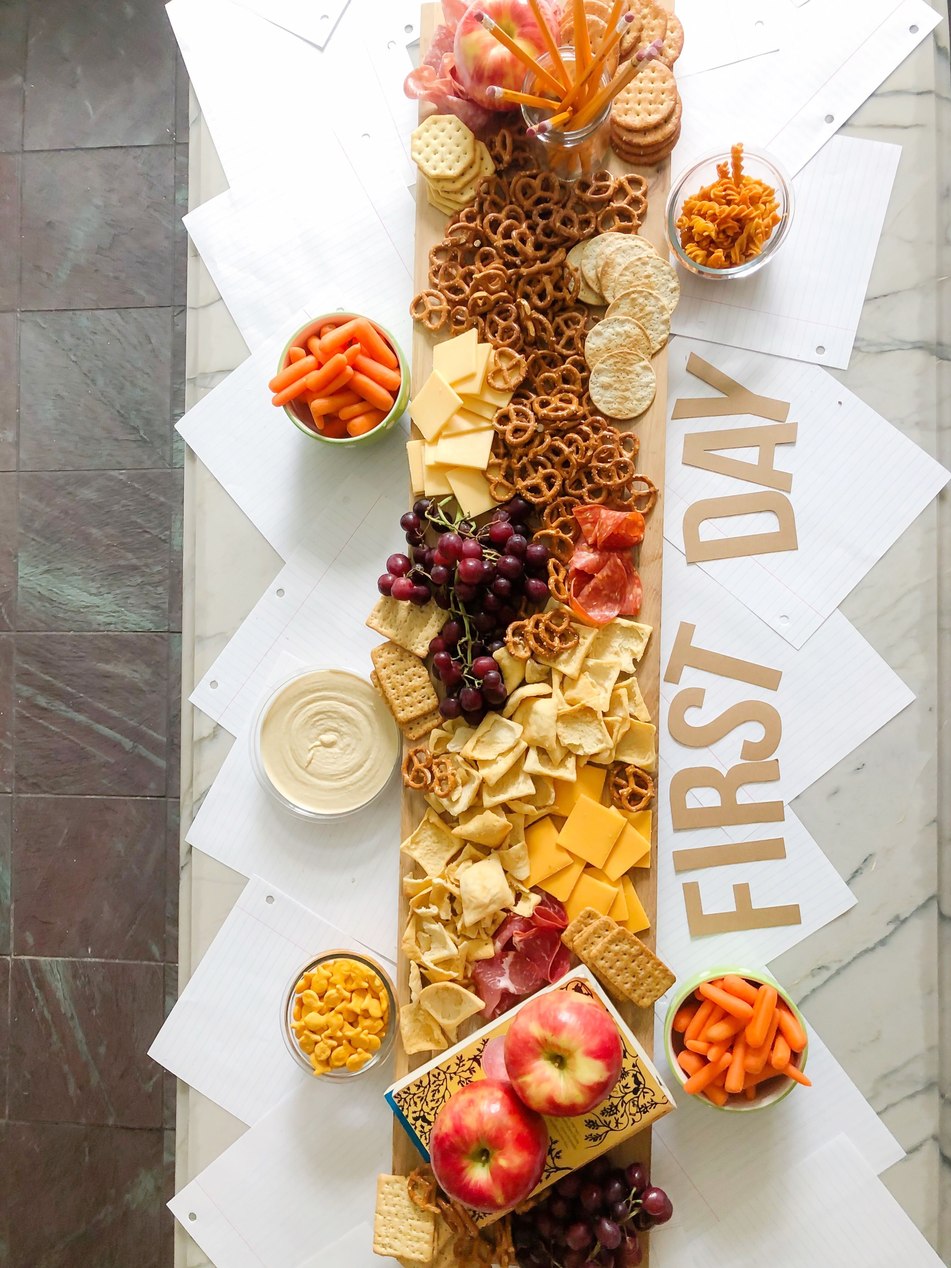 Entertaining simple charcuterie board in 4 easy steps