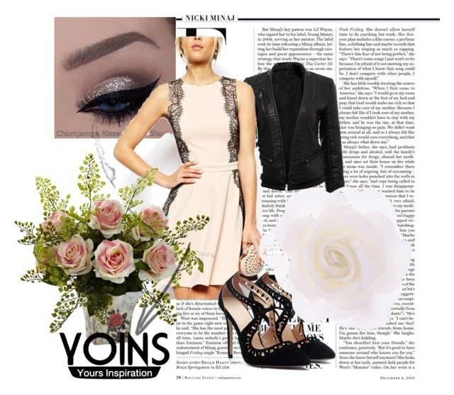 """""""Dress by Yoins"""" by neiraalajmovic ❤ liked on Polyvore featuring Nicki Minaj, Accessorize and yoins"""