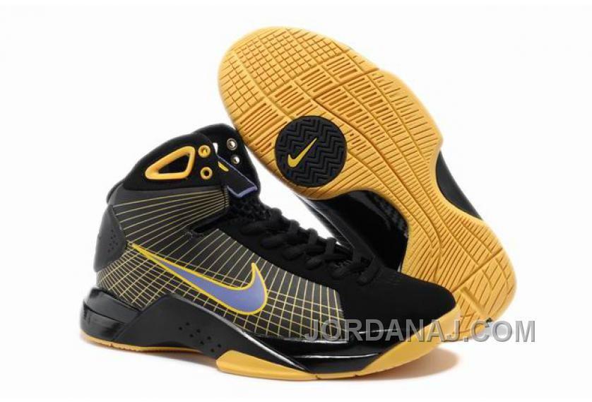 5cb27fee8e24 854-215606 Womens Nike Kobe Shoes Olympic Edition Black Yellow Free  Shipping