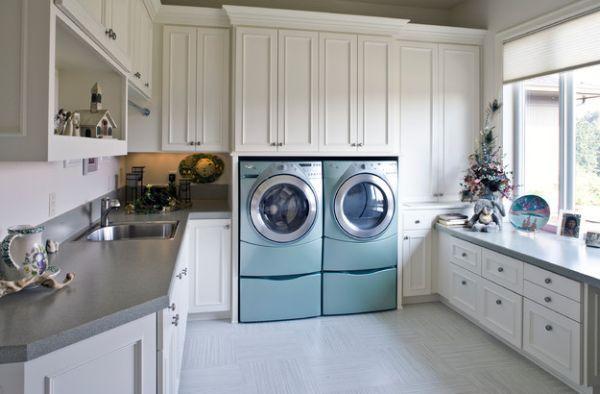 Waschküche Einrichten waschküche einrichten 33 ideen für einen modernen wäscheraum