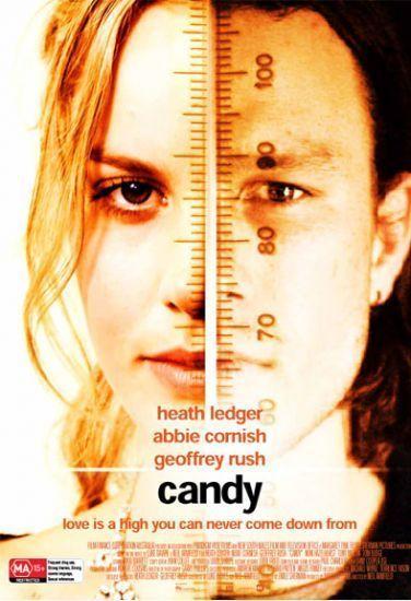Heath Ledger Photo Heath Ledger Abbie Cornish In A Rare Candy Poster Heath Ledger Candy Poster Candy Heath Ledger