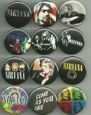 This set features a nice 12 pin set from Nirvana. All pins are 1.5 inches in…