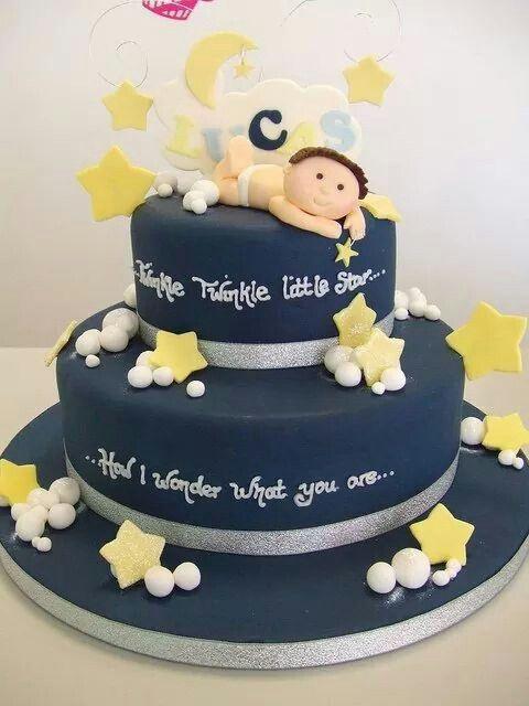 Newborn Baby Boy Cake Pastalar Dogum Gunu Pasta