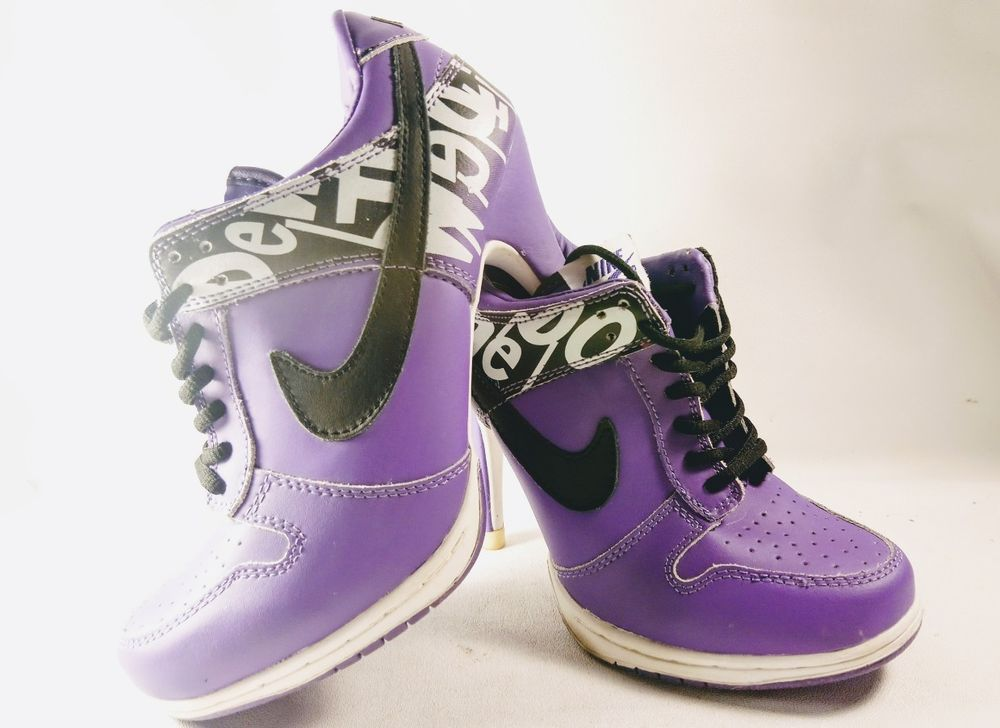 Cusco George Stevenson Abstracción  RARE Nike Dew The Dunk Series Purple Women's sz 8 High Heel Pump Sneakers  Shoes | Clothing, Shoes & Accessories, Wome… | Pumps heels, Pump sneakers, High  heel pumps