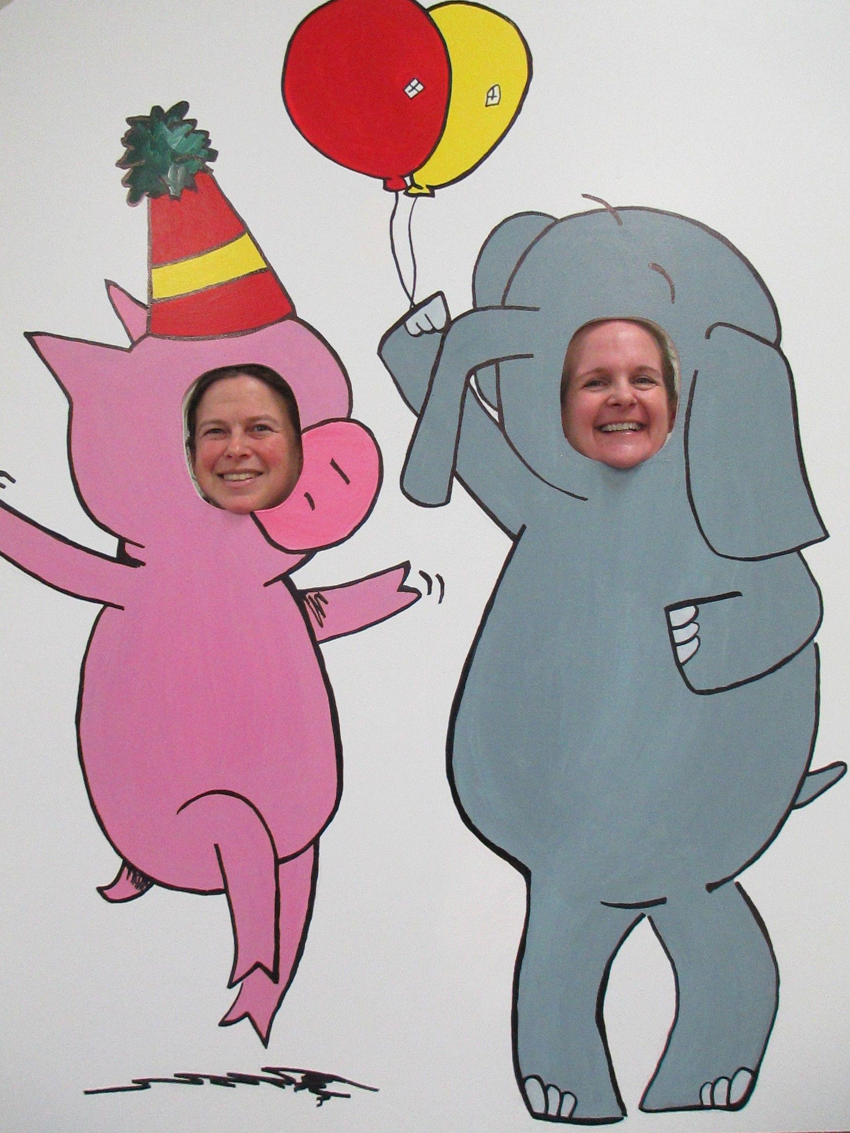 Elephant piggie party elephant birthday party