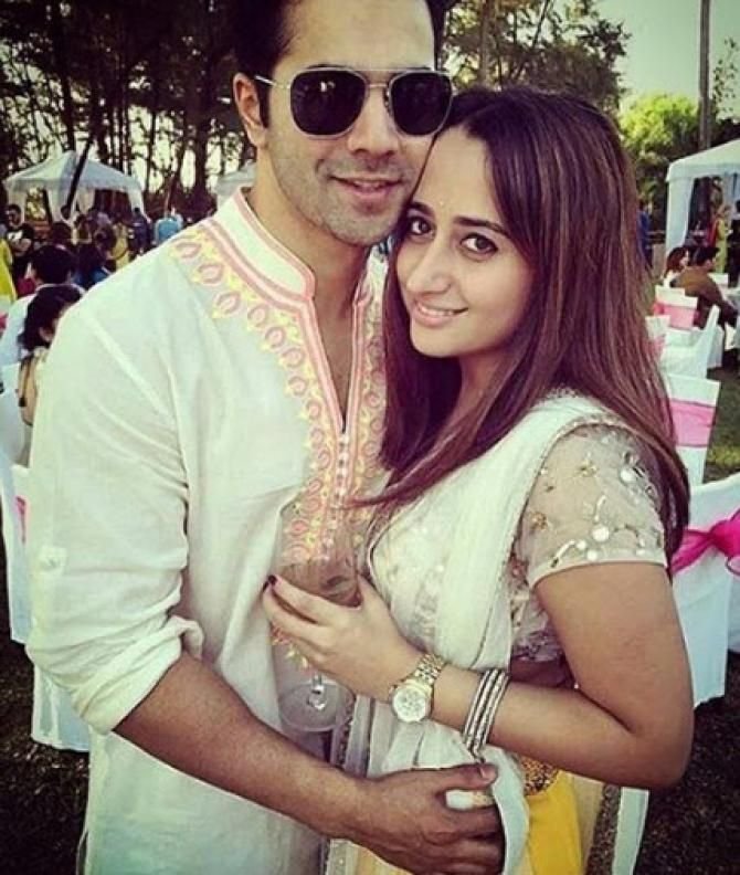 Image result for varun dhawan and natasha dalal