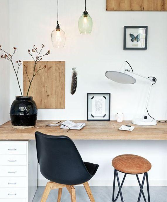 inspiracin deco espacios de trabajo de estilo nrdico