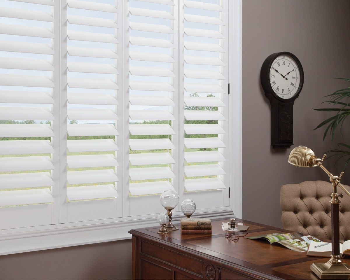 We carry several types of shutters from hardwood hybrid and