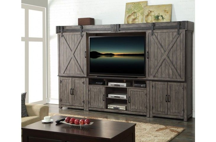 Storehouse Gray Entertainment Wall Unit from Legends Furniture ...