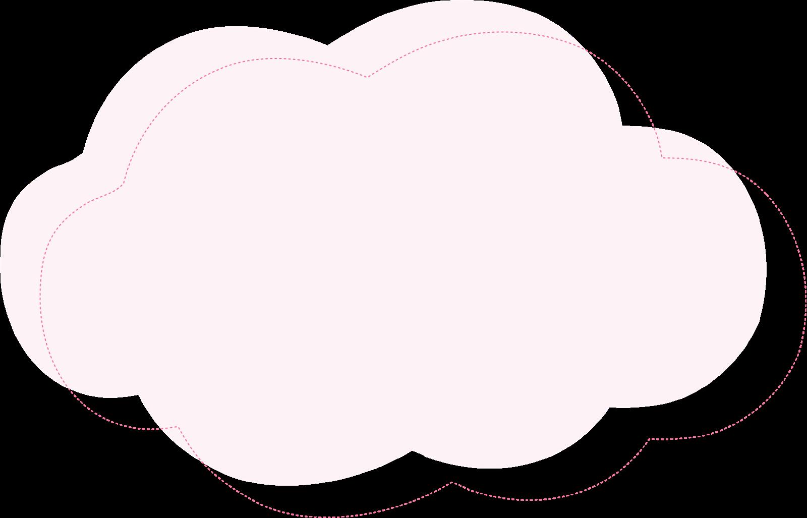 Plantilla Nube Para Hacer Cojin Kawaii Con Forma De Nube