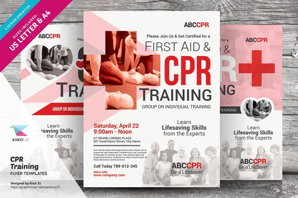 Cpr Flyer Templates