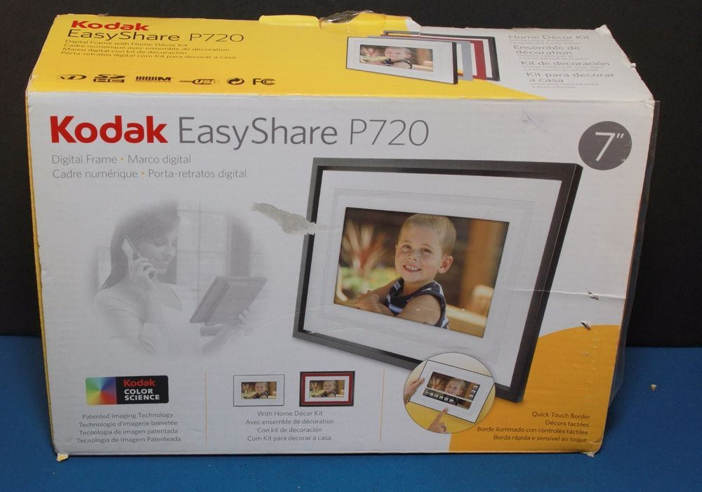 Kodak Easyshare P720 7 Digital Frame New In Box Memories