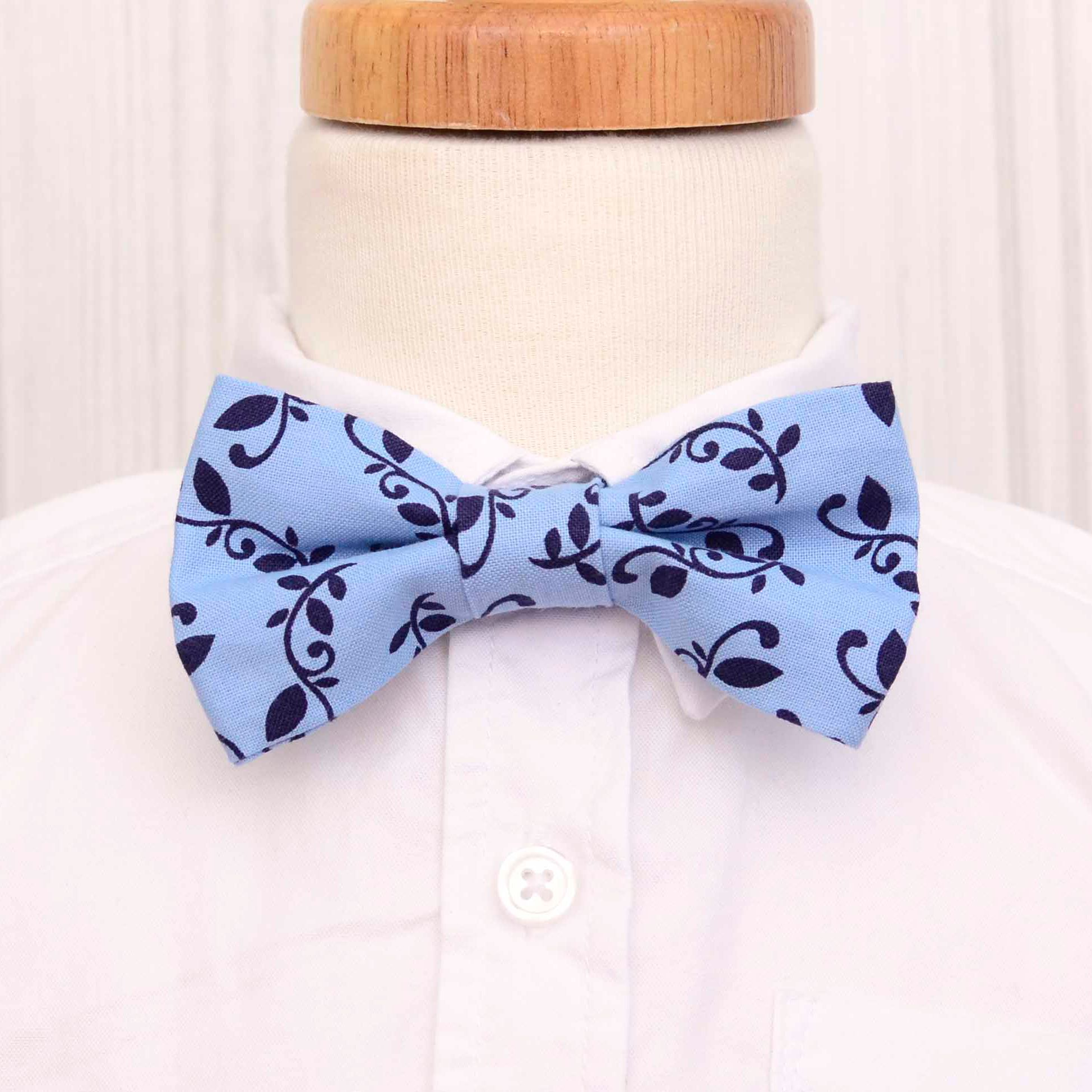 c4d77bb70ae82 Blue Vines Bow Tie in 2019 | Labor of Love Baby Boutique | Toddler ...