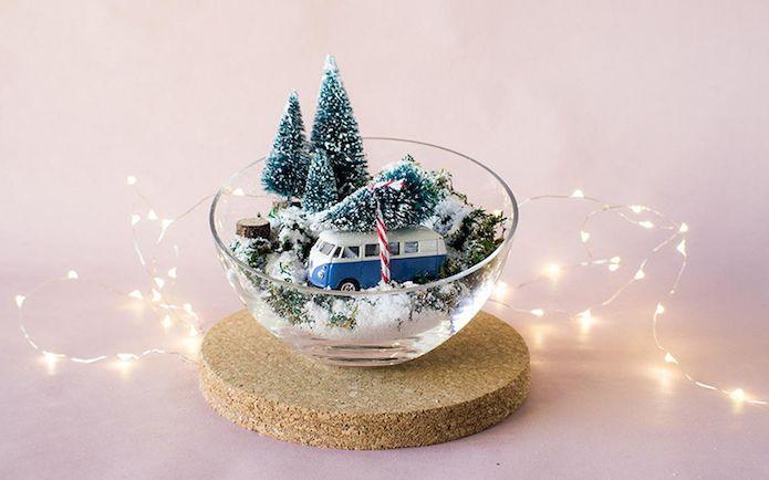 Diy centro de mesa navide o blog invitado ideas diy o - Centros de mesas navidenos ...